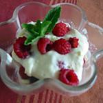 recette Tiramisu framboise et rose