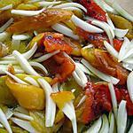recette Poivrons en salade