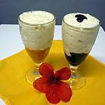 recette Mousse de mascarpone au coulis de fruits et citron