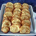recette Feuilletés au parmesan/basilic