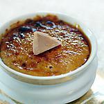 recette crème brulée au fois gras