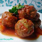 recette ~Boulettes de viande sauce aigre-douce~