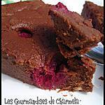 recette Fondant au chocolat, framboises et ricotta