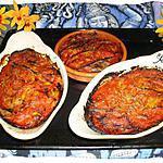recette gateau d'aubergines à la tomate
