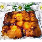 recette gateau aux abricots caramélisés