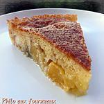 recette Gâteau moelleux à la pêche
