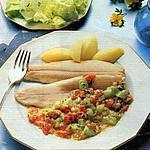 recette truites à la compote de légumes