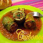 recette Courgettes farcies à l'algérienne.