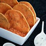recette Crackers aux lentilles corail & cumin
