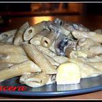 recette pate au champignons