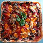 recette pizza aux sardines et à la mimolette