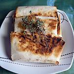Bricks au fromage et herbes fraiches