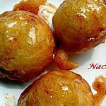recette loqma (beignet au miel)