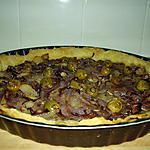 recette tarte aux oignons rouges
