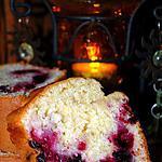 recette Cake aux fruits rouges