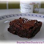 recette Brownies Citron Chocolat et Fleur de Sel