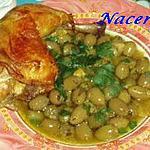 recette poulet aux olives vertes