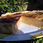 recette Flan sur pâte sablée à la réglisse