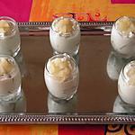 recette Mousse de roquefort et poire confite