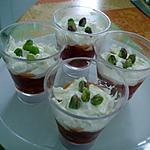 recette verrine poivrons chèvre