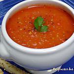 recette ~Crème de tomate maison~