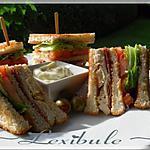 recette Club sandwich au poulet et prosciutto