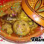 recette Tadjine d'artichauts