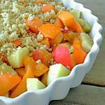 recette Crumble Pommes & Abricots