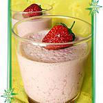 recette Panna cotta fraise-vanille