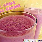 recette Milk-shake fraise-banane