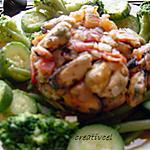 recette moules à la provençale et ses légumes verts très diététiques (prépa 15 mns)