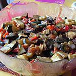 recette Salade de riz en ratatouille