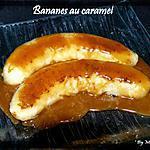 recette Bananes au caramel