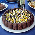 Gâteau d anniversaire au chocolat