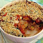 recette Gratin de riz, courgette-mozzarella façon crumble
