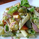recette ~Salade de pâtes gourmet~
