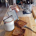 recette Mes premières gaufres au fer à gaufre