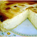 recette Gâteau au fromage blanc sur fond de pâte amandine au citron