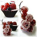 recette BOUCHEES AU CHOCOLAT ET FRUITS DES BOIS
