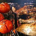 recette Poulet à la crapaudine au barbecue