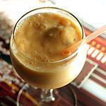 Milkshake au Melon-Nectarine et aux amandes