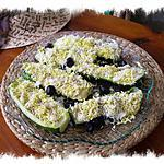recette courgettes ''mimosa ''