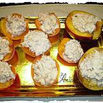 recette abricots et nectarines au thon ( tapas- dîner apéritif)
