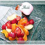 recette salade de fruits jolie jolie jolie , tu plais à .....