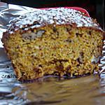 recette cake aux carottes sans beurre  (prépa 10mns)