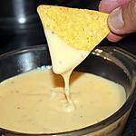 recette Sauce au fromage pour nachos