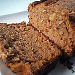 recette Cake à la farine de châtaigne , marmelade de figue et anis vert