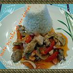 recette cotes de porc sauté au saké et ses épices
