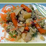 recette potée aux légumes et lardons
