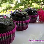 recette ~Cupcakes au chocolat noir~